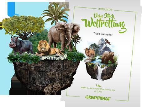 Greenpeace Austria - Stück für Stück zur Weltrettung